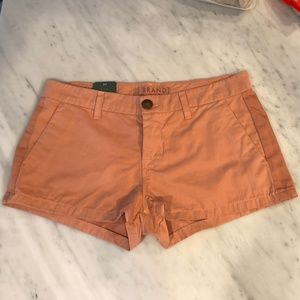 NWT J Brand Callie Clean Pieced Shorts 27